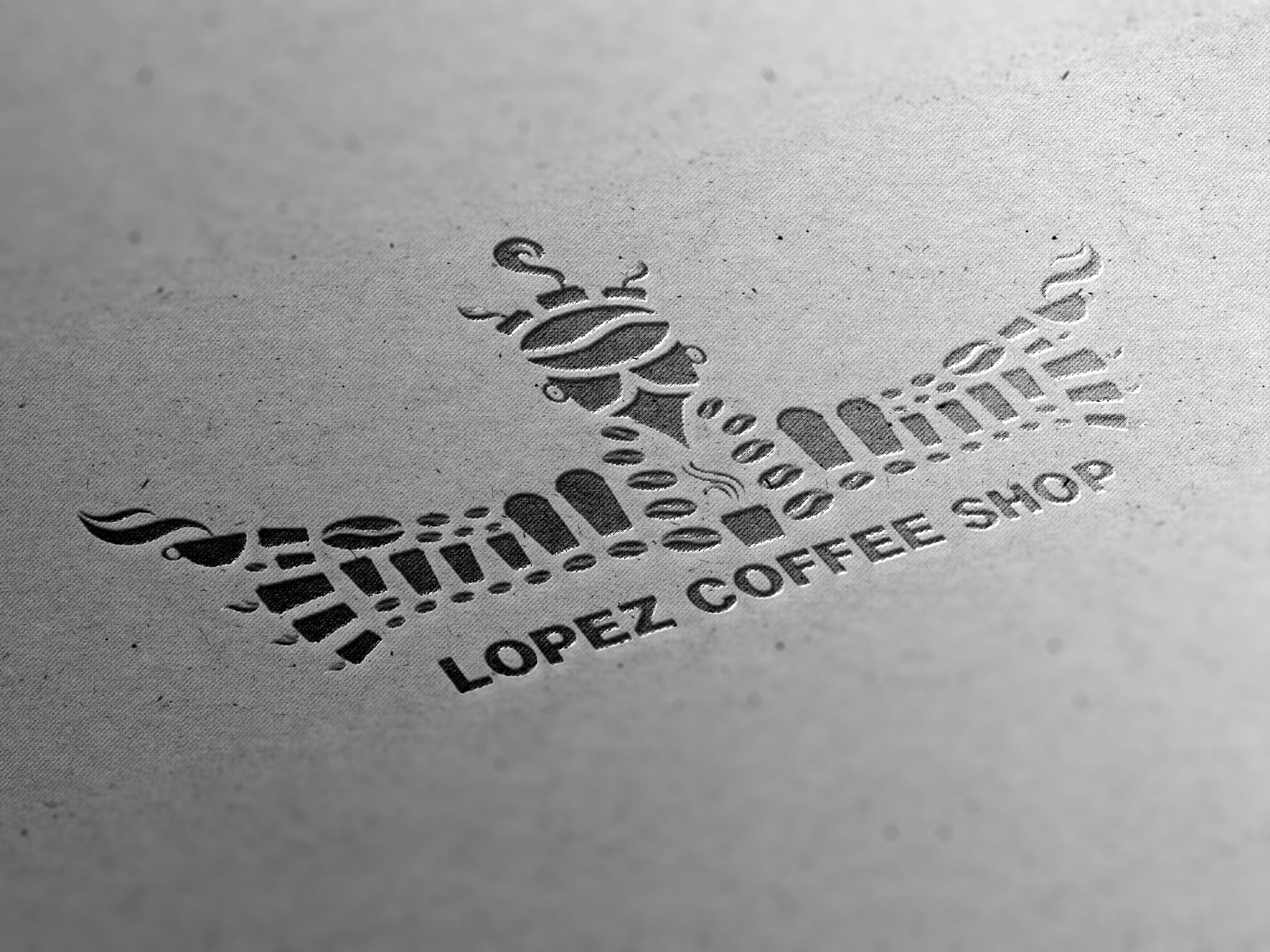 Lopez Coffee Shop Brand 01