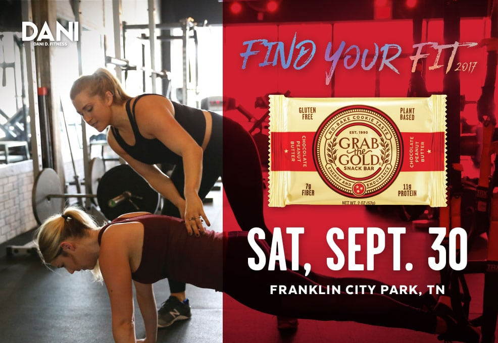 Grab The Gold Dani D Fitness Event SM Post r3