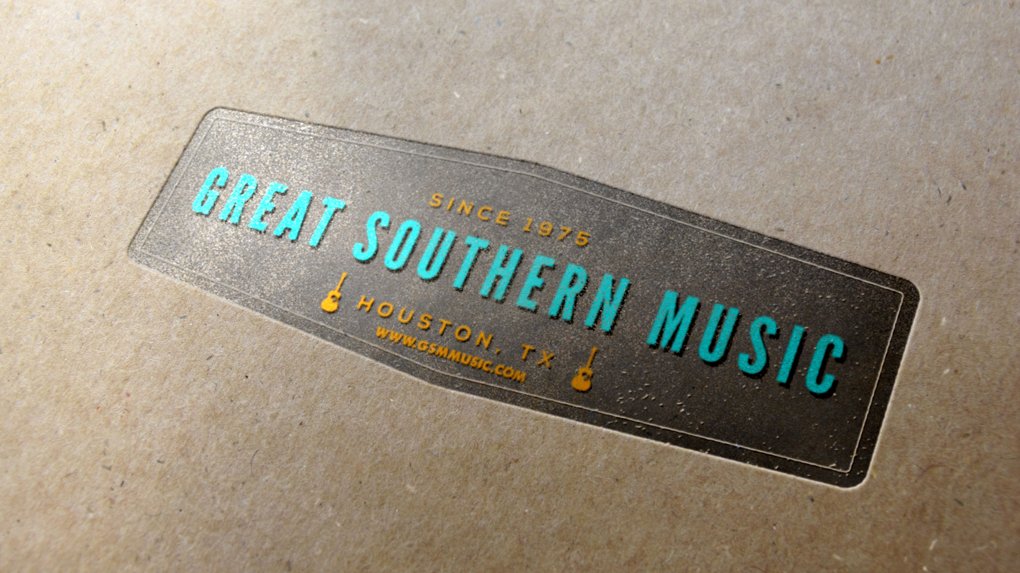 Great Souther Music Printed Sample 1