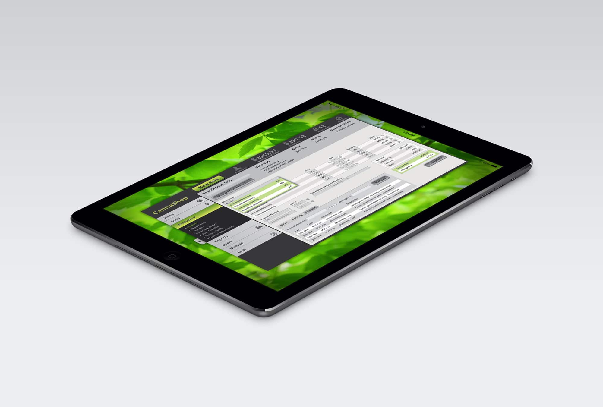 canna consult software ipad