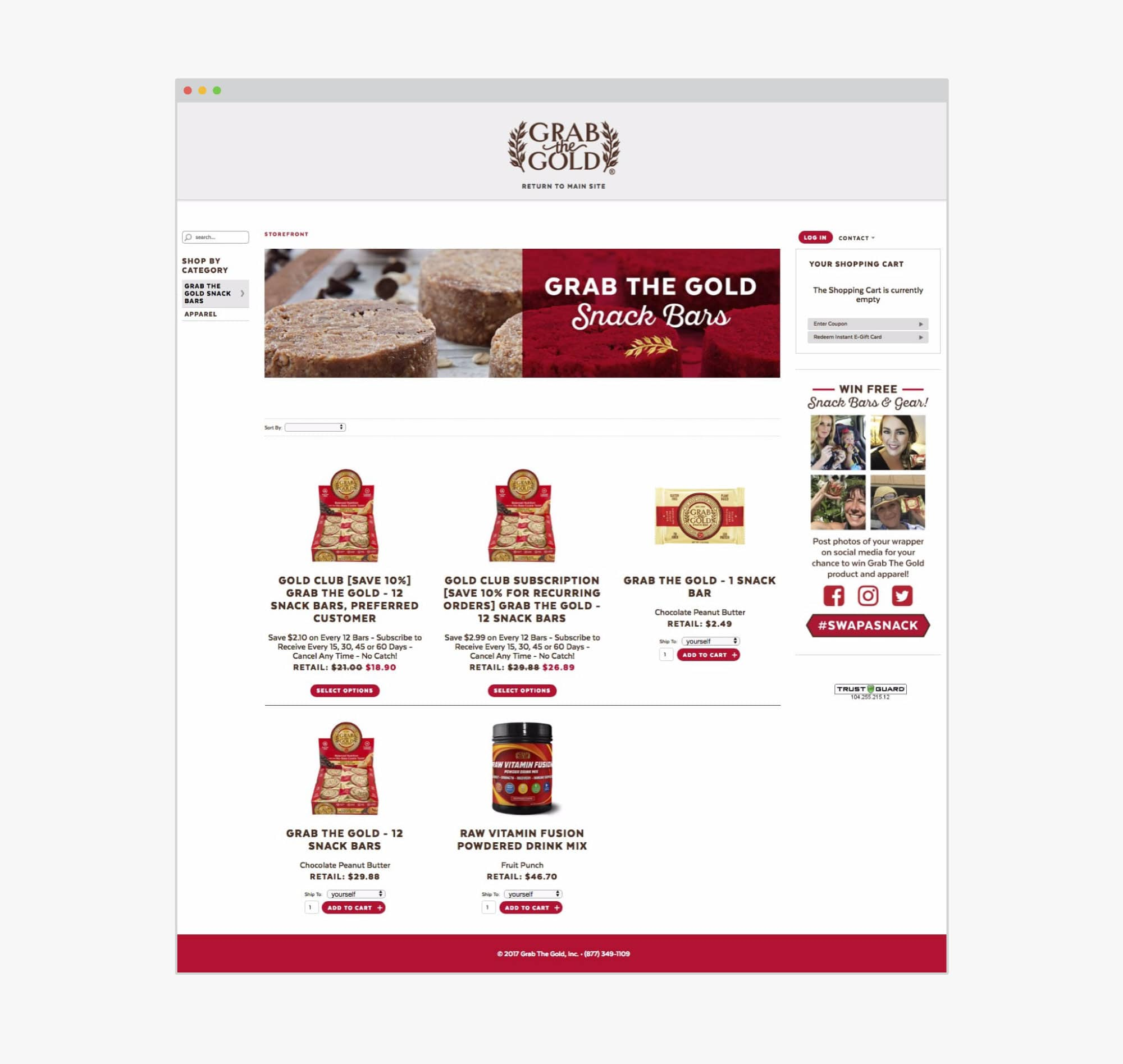 giant is kona design grab the gold website ecommerce