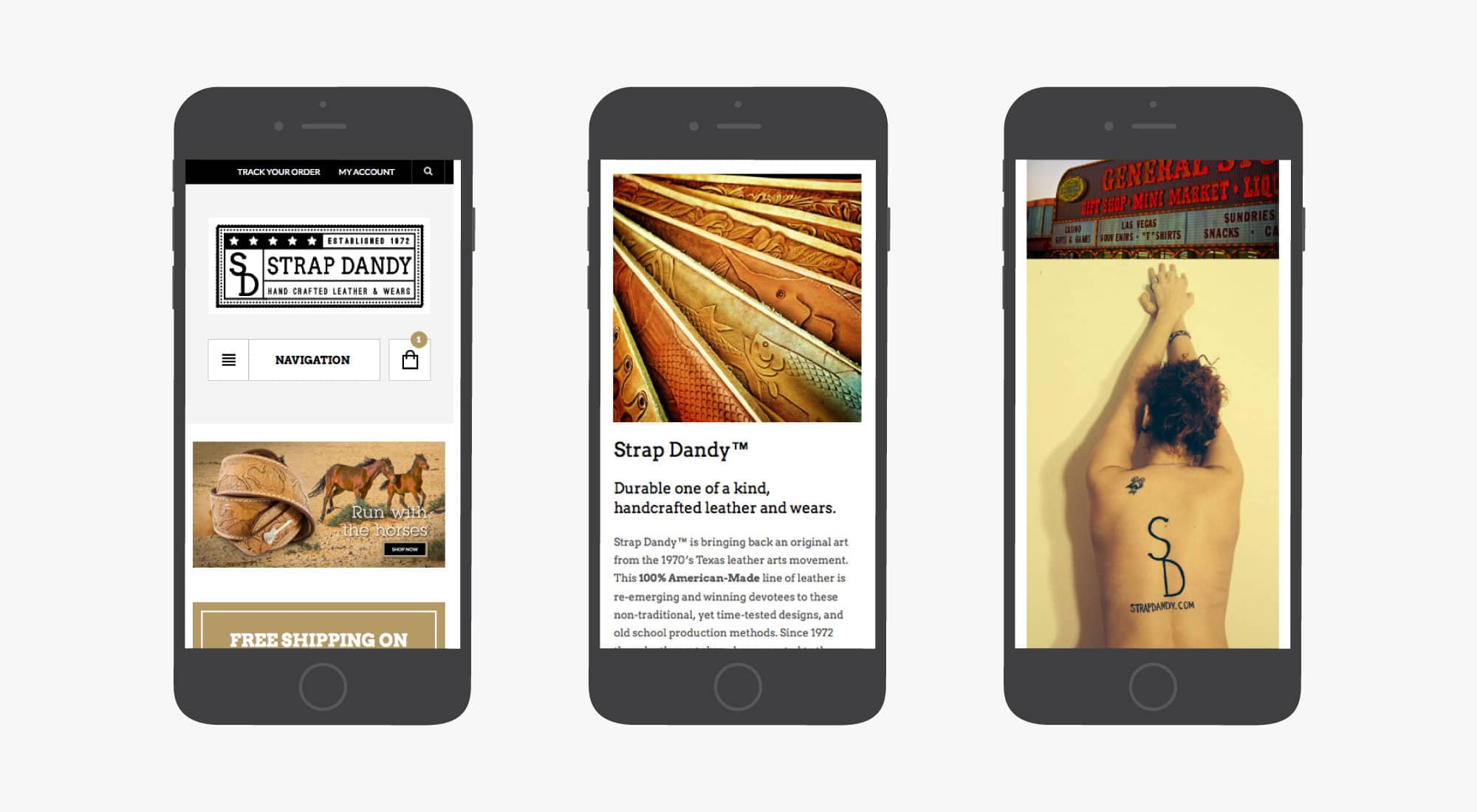 giant is strap dandy samples mobile screens