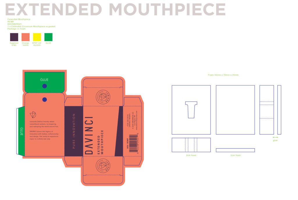 EXTENDED Mouthpiece