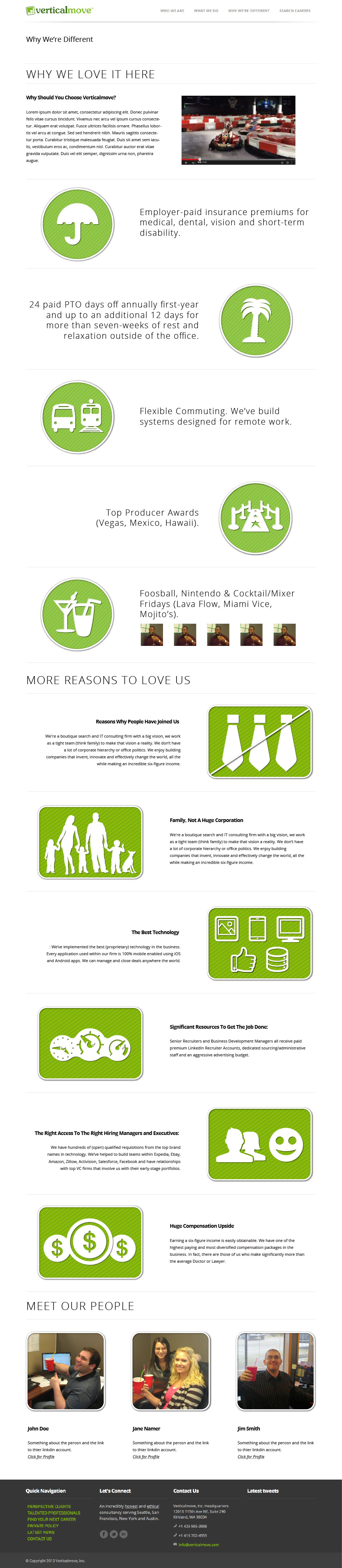 Verticalmove Landing Page GIANT Sample