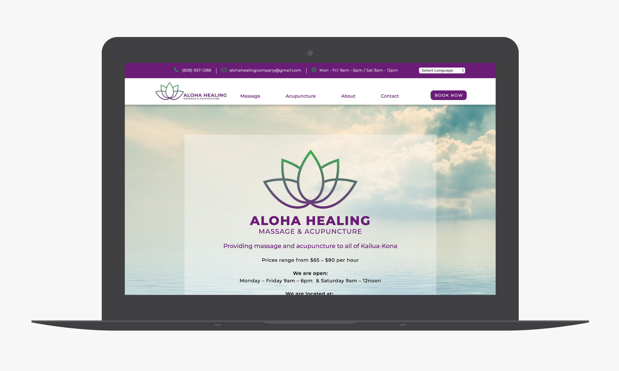 giant is aloha healing massage and accupunture website samples 02
